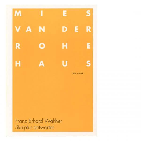 Skulptur antwortet FRANZ ERHARD WALTHER