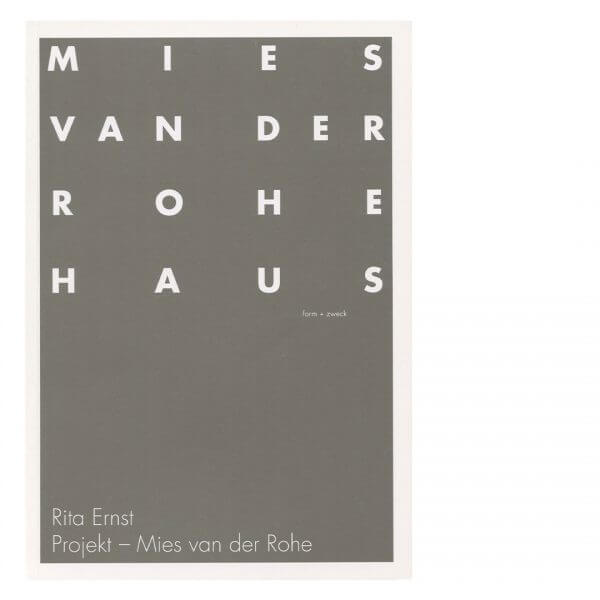 Projekt – Mies van der Rohe RITA ERNST